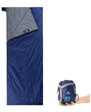 Naturehike Sleeping Bag – Envelope Lightweight Portable, Waterproof, Comfort with Compression Sack - Great for 3 Season Traveling, Camping, Hiking, O for Sale in Leawood, KS