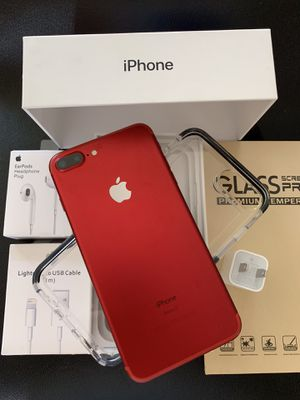 IPHONE 7+PLUS UNLOCKED FOR ANY CARRIER COMPANY & WORLDWIDE 256GB for Sale in Montebello, CA
