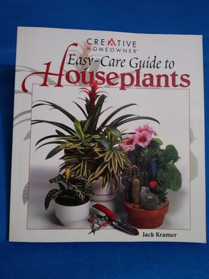 Easy - Care Guide to Houseplants by Jack Kramer for Sale in San Antonio, TX