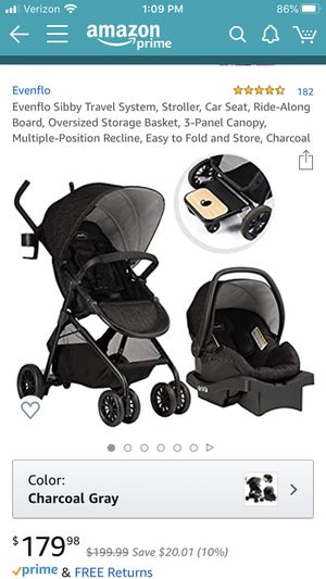 Baby stroller & car seat combo (used) for Sale in New York, NY