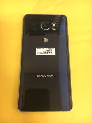 Samsung Galaxy Note 5 32GB Unlocked Blue for Sale in Kent, WA