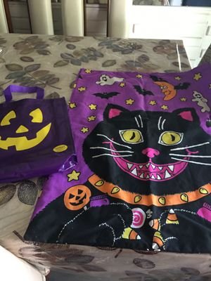 Halloween pillow case and treat bag (one) for Sale in Buena Park, CA