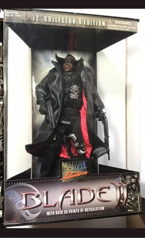 Marvel 12 Inch Blade Collectible Action Figure Toy for Sale in Chicago, IL
