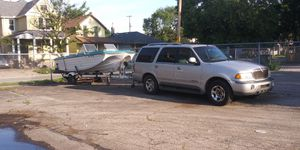 20ft. Boat trailer included fishing boat with 80HP motor for Sale in East Cleveland, OH