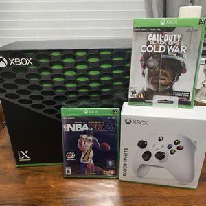 Xbox Series X Disc Edition Bundle for Sale in Los Angeles, CA