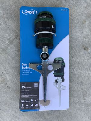 Orbit Gear Drive Sprinkler for Sale in Upper Marlboro, MD