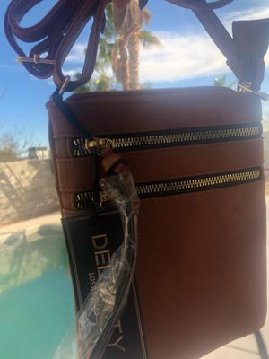 New real 100% leather designer bag purse crossbody for Sale in Reno, NV