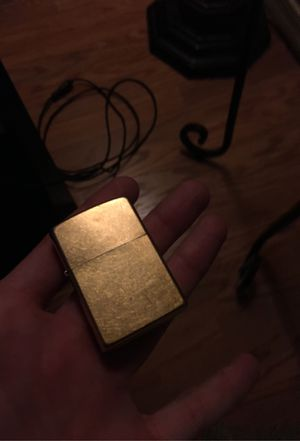 Classic gold zippo for Sale in Phoenix, AZ