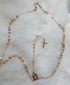 Rosary chapeado de oro brand new for Sale in Phoenix, AZ