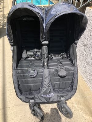 Mini City gt double stroller for Sale in Los Angeles, CA