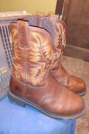 Justin original work boots for Sale in Dallas, TX