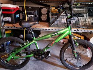 Kids 18in wheel bike with pegs for Sale in La Vergne, TN