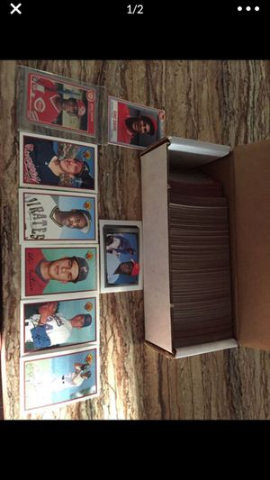 Vintage baseball cards and basketball for Sale in Escalon, CA