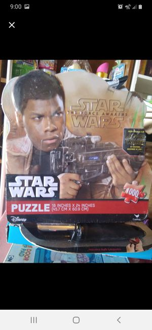Star wars puzzle for Sale in Sumter, SC