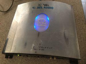 Car Amplifier Diesel Audio Pro Series 700w Max 4Channel bridge Mode 2channel bass mode for Sale in Phoenix, AZ
