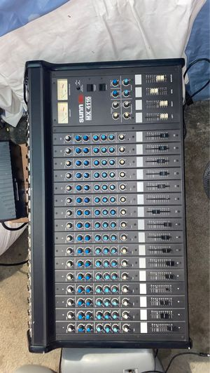 Sunn MX 4116 Pro Audio 16 Channel Mixer for Sale in Cicero, IL