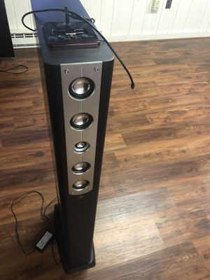 Sharper Image iTower Omega SM252 - In Home Speaker Tower w/ AUX input! for Sale in Fairfax, VA