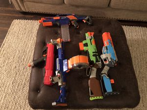 5 Nerf guns + Rival for Sale in American Canyon, CA