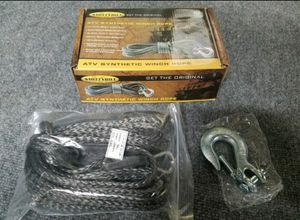 Smittybuilt 97704 XRC 40 ft synthetic winch rope for Sale in Corona, CA