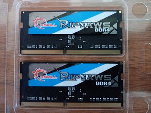 G.SKILL 16GB 2 x 8G Ripjaws DDR4-2400 PC4-19200 SO-DIMM Laptop Memory for Sale in Crestline, CA
