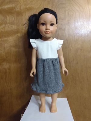 "18inches Doll Dress made to fit 18"" Dolls for Sale in Peoria, IL"