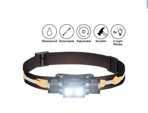 SLONIK 1000 Lumen Rechargeable 2x CREE LED Headlamp for Sale in Boston, MA