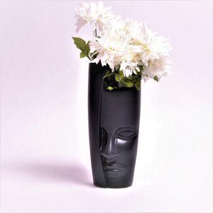 Face Sculpture Vase | Head Flower Vase | HOME DECOR | MAN FACE CERAMIC VASE | POSHIPO for Sale in Hollywood, FL