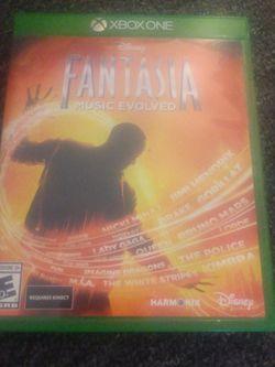 Fantasia Xbox One For Kinect for Sale in Staunton,  VA