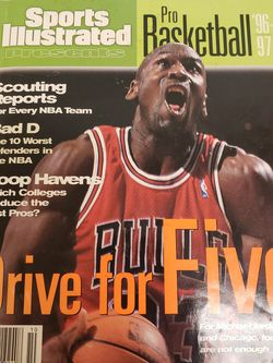 Vintage Sports Illustrated Michael Jordan Magazine for Sale in Austin,  TX