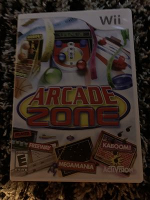 Wii Arcade Zone Video Game for Sale in Orlando, FL