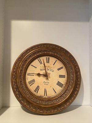 Wall Clock / home decor for Sale in Bonney Lake, WA