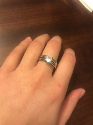 Promise ring & engagement ring set for Sale in Lancaster, PA