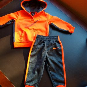 Nike Dri-Fit Hoodie and Pants. Infant 12 mo. for Sale in Redding, CA