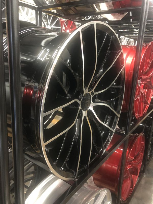 """BLACK FRIDAY SPECIALS 19"""" Staggered MSPORT Style Wheels Rims Tires Fit 5x120 All Bmw Models Awd Xdrive Rwd PACKAGE DEAL"""