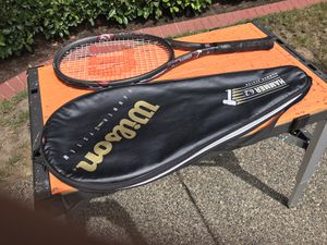 Tennis Racket (Wilson Hammer Graphite) for Sale in Woodway, WA