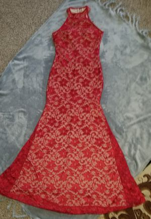 Red floral Mermaid dress for Sale in Vancouver, WA