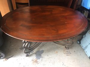 Coffee table single wood chair piano bench FREE STILL AVAILABLE for Sale in Brandon, FL