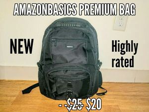 """Amazonbasics Premium Backpack- supports 15"""" laptop for Sale in Malden, MA"""