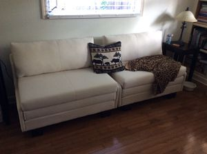 Sparrow Albany Convertible seat Sleeper, Beige for Sale in Oldsmar, FL