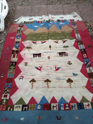 Folkart rug for Sale in Rosemead, CA