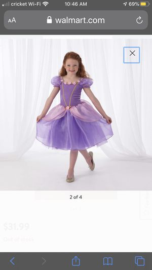 KidKraft Pink and Purple Princess costume, recital gown, look like Rapunzel from Disney's Tangled for Sale in Roselle, IL