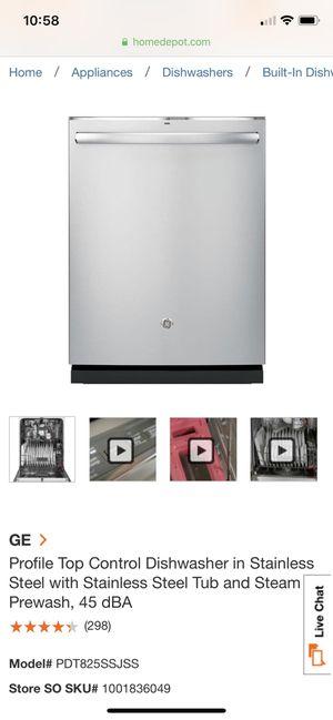 "GE series 24"" hidden control, 45 dBA for Sale in FL, US"