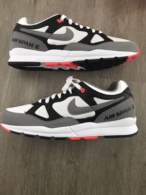 Nike air span 2 mens shoes hot coral brand new for Sale in Pompano Beach, FL
