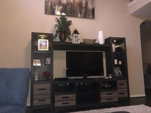 Entertainment center and hot tub for Sale in Spring, TX