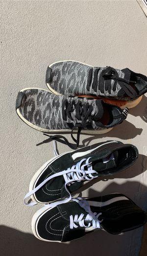 Adidas and vans for Sale in El Monte, CA