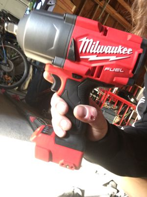 """Milwaukee Fuel 1/2"""" Square Ring Impact wrench for Sale in West Valley City, UT"""