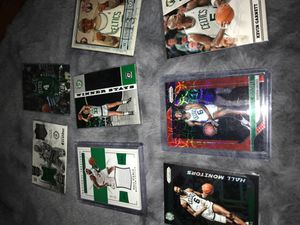 Boston Celtics Lot jersey and numbered cards for Sale in Lakewood, CA