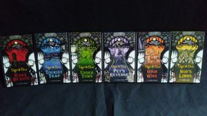Set of 6 Edgar and Ellen Halloween themed books (complete set) for Sale in Lynwood, IL