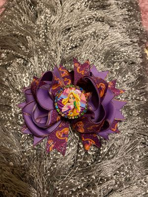 Disney Princess Hair bow Rapunzel for Sale in Montgomery, TX
