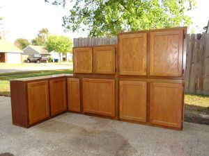 Kitchen Cabinets (Wall) $200 for Sale in Virginia Beach, VA